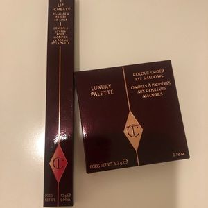 Charlotte Tilbury Pillow Talk Eyeshadow +lip cheat